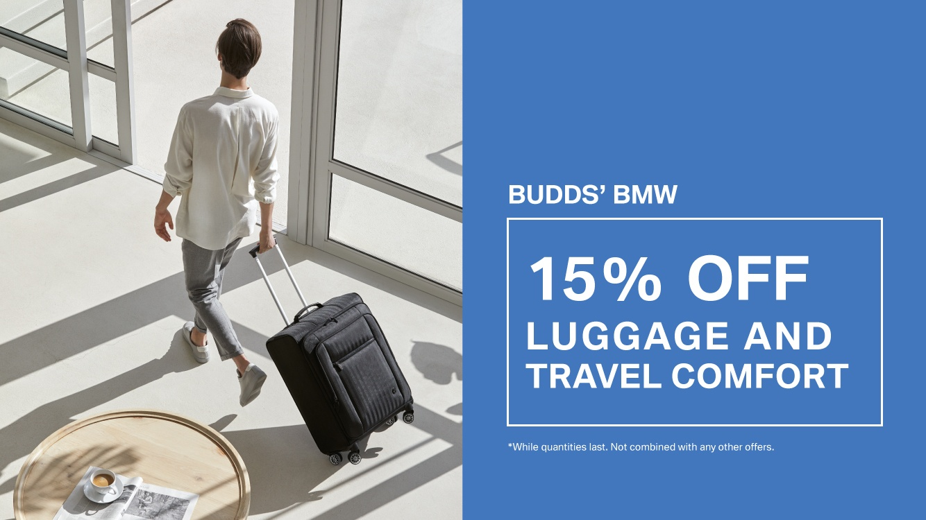 15% OFF BMW Travel Luggage