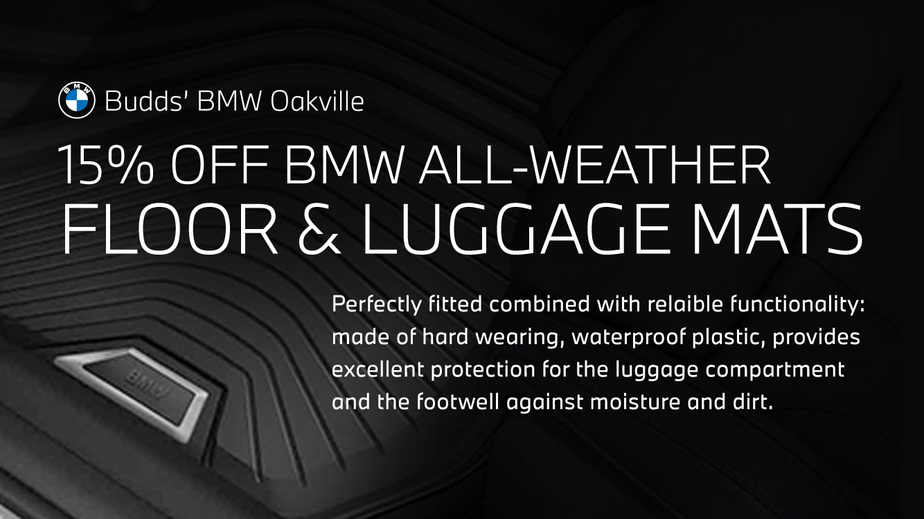 15% OFF All-Weather Floor & Luggage Mats